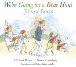 We're Going on a Bear Hunt Jigsaw Puzzle Book (Board book)