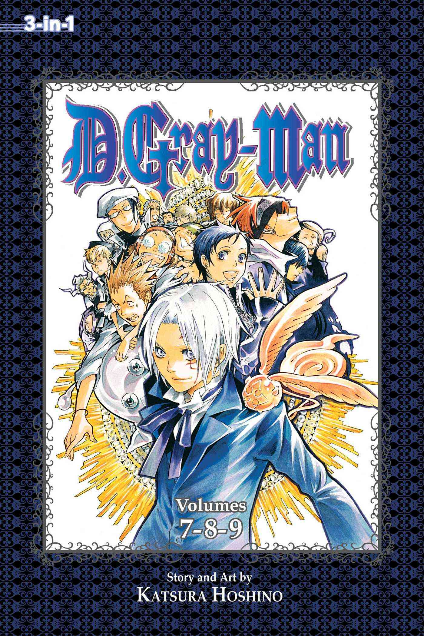 D.Gray-Man: 3-In-1 Edition 3 (Paperback)