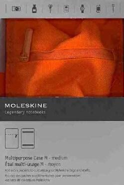Moleskine Orange Multipurpose Case Medium: 4 X 6 In. (General merchandise)