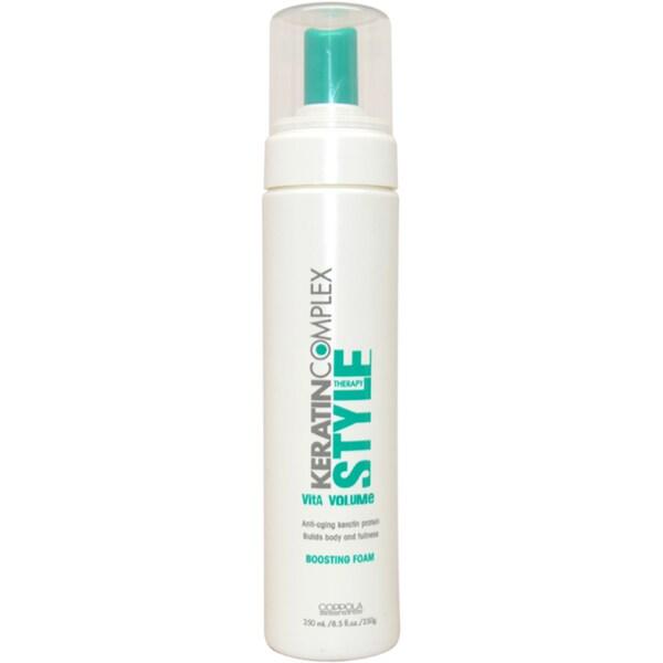 Keratin Complex Style Boosting 8.5-ounce Foam