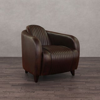 Jupiter Vintage Tobacco Leather Chair