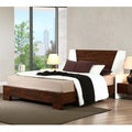 Venus Autumn Oak Queen-size Bed