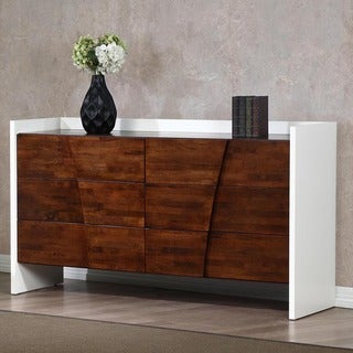 Venus Autumn Oak 6-drawer Dresser