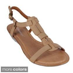 Reneeze Women's 'Chris-03' Low Heel Sandals