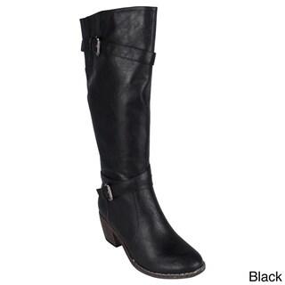 Reneeze 'ABBA-11' Women's Knee-high Riding Boots