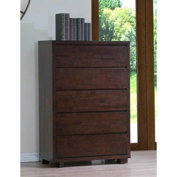 Harvey Wenge 5-drawer Chest