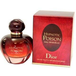 Christian Dior Hypnotic Poison Eau Sensuelle Women's 1.7-ounce Eau de Toilette Spray