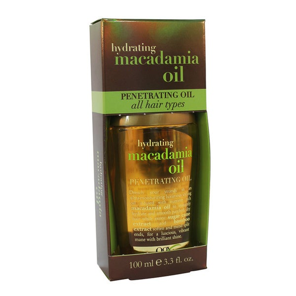Organix Hydrating Macadamia Oil 3.3-ounce Penetrating Oil