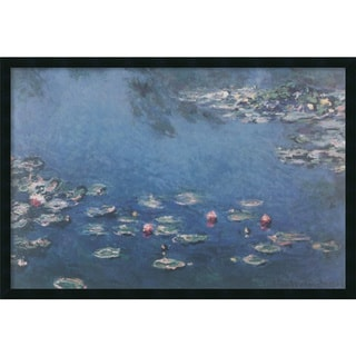 Claude Monet 'Waterlillies' Framed Art Print with Gel Coated Finish