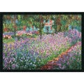 Claude Monet 'Le Jardin de Monet a Giverny' Framed Art Print