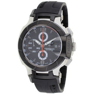 Tissot Men's T0484272705700 T-Race Chronograph Watch