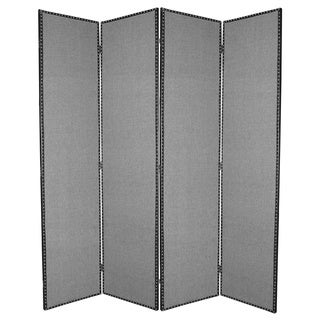 Mandalay 4-panel Fabric Screen (China)