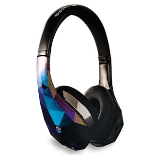 Monster Power Diamond Tears Edge On Ear HD Black Headphones