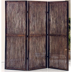 Waikoloa 3-Panel Wood Screen (China)