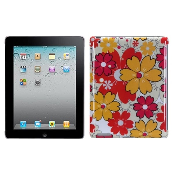 INSTEN Summer Bloom Back Tablet Case Cover for Apple iPad 1/ 2/ 4