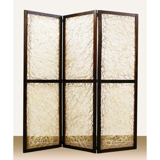Kawaii 3-Panel Wooden Screen (China)