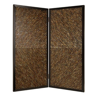 84-inch High Anacapa 2-panel Wooden Screen (China)