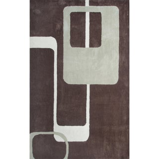 Retro Brown Rug (16'x27')
