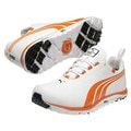 Puma Men's Faas Lite Spikless Orange Stripe Golf Shoes