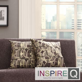 INSPIRE Q Clybourn 18-inch Toss Mod Geometric Accent Pillow (Set of 2)