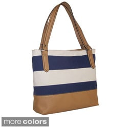 Bueno 'Catalina' Large Canvas Shopper Tote