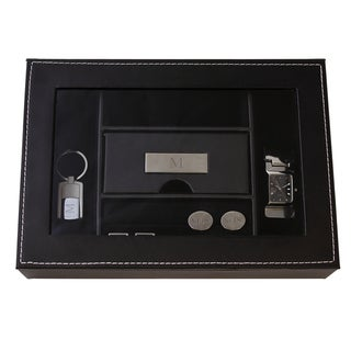 Men's Custom Engraved Valet Box