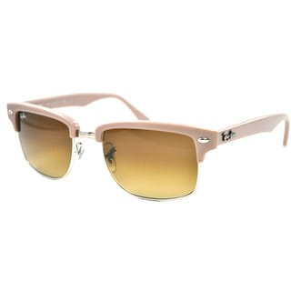 Ray-Ban 'Clubmaster' RB4190 Beige Squared Sunglasses