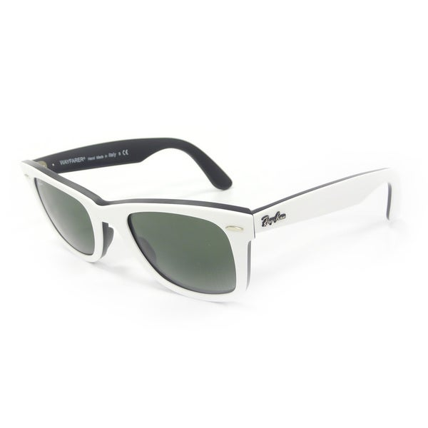 Ray-Ban Men's Original Wayfarer White Sunglasses