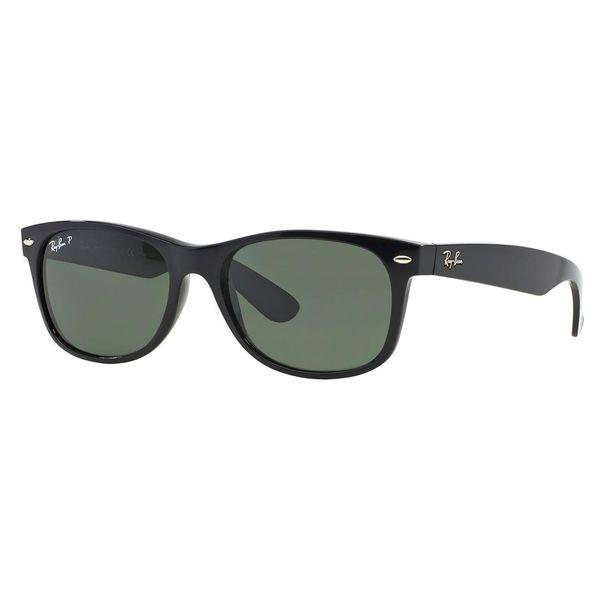 Ray-Ban Men's New Wayfarer Black Sunglasses