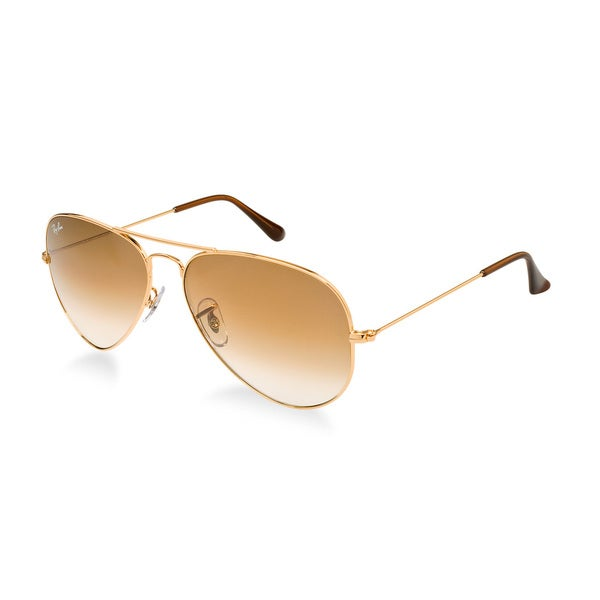 Ray-Ban Men's Large Aviator Arista Gold Sunglasses