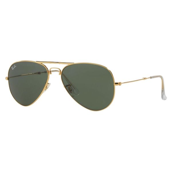 Ray-Ban Men's Folding Aviator Black Sunglasses