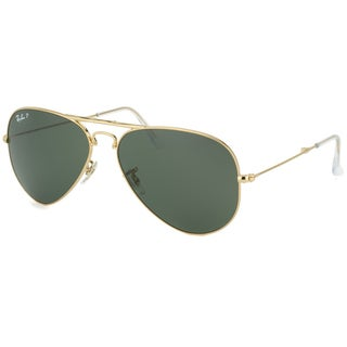 Ray-Ban Men's Folding Aviator Black Sunglasses