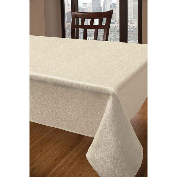 Sandstone Ivory Tablecloth