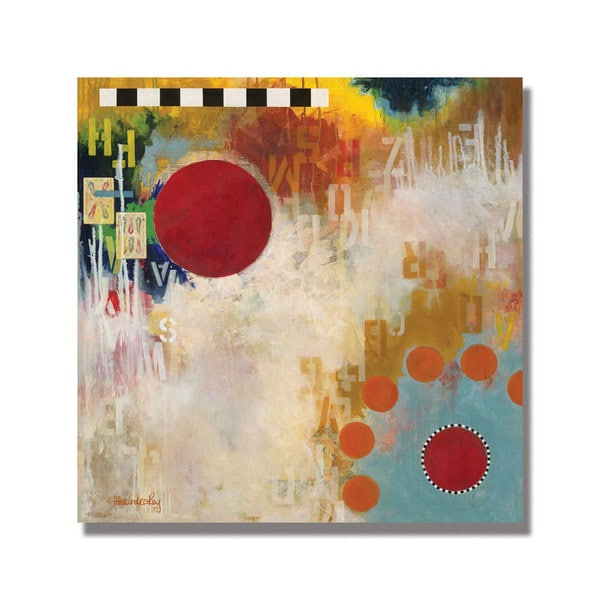 Alexandra Rey 'The Hidden Message' Canvas Art