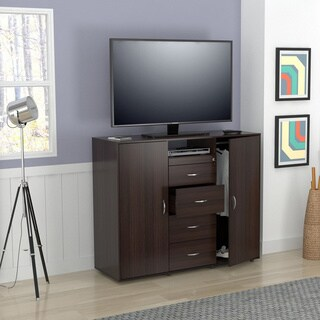 Inval Contemporary Armoire Media Chest