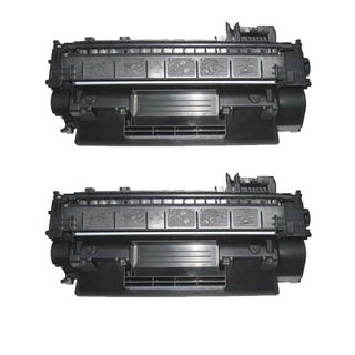 HP CE505A (05A) Black Compatible Laser Toner Cartridge (Pack of 2)