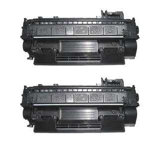 NL-Compatible CE505A (05A) Black Compatible Laser Toner Cartridge (Pack of 2)