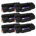 NL-Compatible Q5949A (49A) Black Compatible Laser Toner Cartridge (Pack of 6)