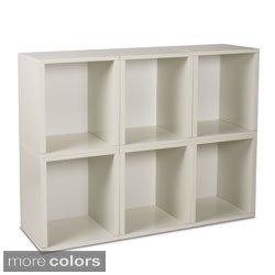 zBoard Modular Storage Cubes (Set of 6)