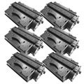 NL-Compatible CE505X (05X) High Yield Black Compatible Laser Toner Cartridge (Pack of 6)