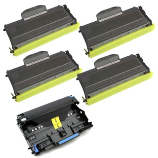 Brother Compatible TN360s, 1 DR360 Drum Unit (Pack of 5)