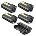 Brother Compatible TN570, 1 DR510 Drum Unit (Pack of 5)
