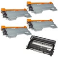 Brother Compatible TN450, 1 DR420 Drum Unit (Pack of 5)