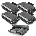 Brother Compatible TN580, 1 DR520 Drum Unit (Pack of 5)