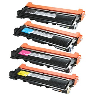Brother TN-210BK TN-210C TN-210M TN-210Y Color Laser Toner Cartridges (Pack of 4)
