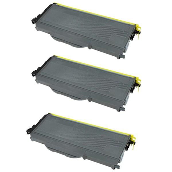 Brother TN360 Compatible Black Toner Cartridges (Set of 3)