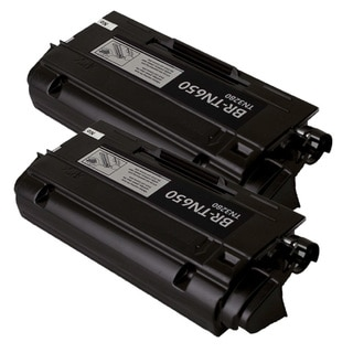 Brother TN650/TN620 Compatible Black Toner Cartridges (Pack of 2)