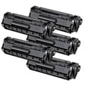 Canon 104 (0263B001A) Compatible Black Toner Cartridges (Pack of 5)