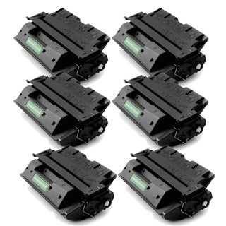HP C8061X (61X) Compatible Black High Yield Toner Cartridge (Pack of 6)