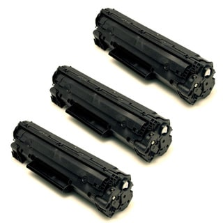 HP CB436A (36A) Black Compatible Laser Toner Cartridge (Pack of 3)